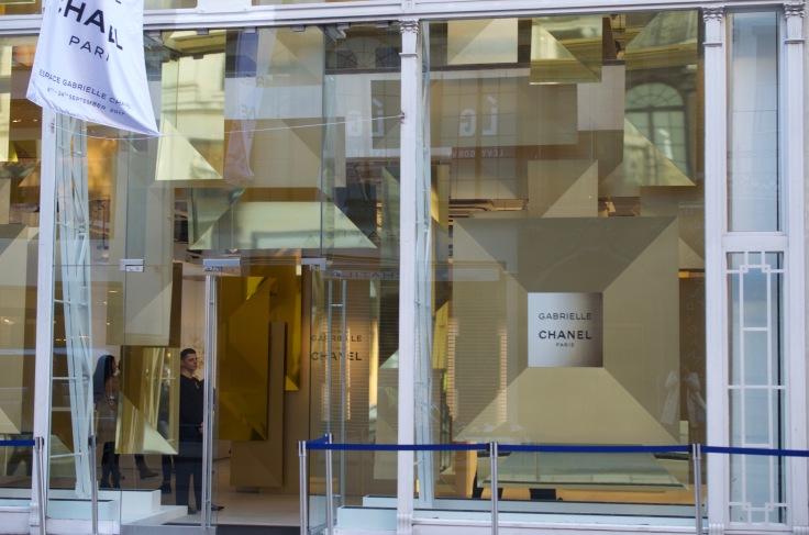 Espace Gabrielle Chanel, London - champagnetwist.com