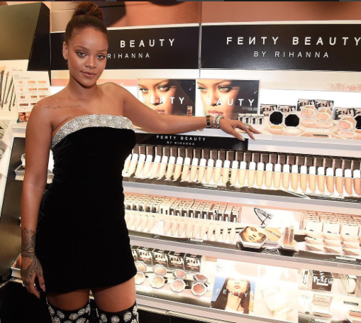 Fenty Beauty Picture source https://www.instagram.com/p/BYxS1QCFR3B/?taken-by=fentybeauty