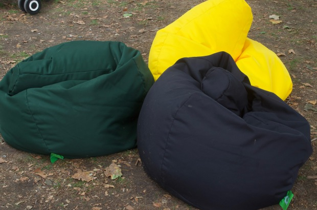 bean bags green black yellow Jamaica - Caribbean Food Week Festival 2018 | Champagne Twist