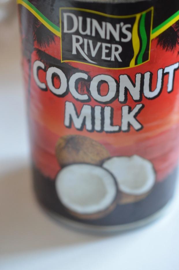 coconut milk Dunn's River champagnetwist