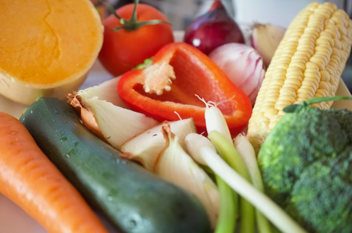 Fresh vegetables - Caribbean Food Month | ChampagneTwist.com