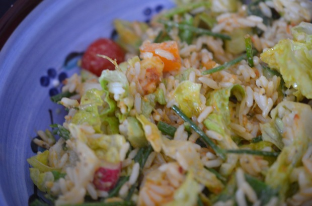 Rice salad - champagnetwist.com
