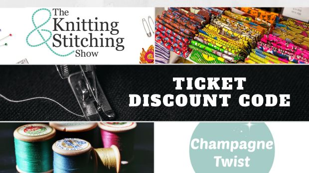 knitnstitch discount code | Champagne Twist