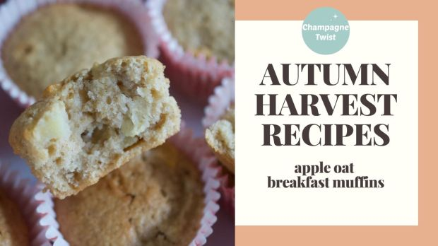 Apple Oat muffins | Champagne Twist