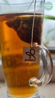 Roqberry Coco Joe black tea review | Champagne Twist
